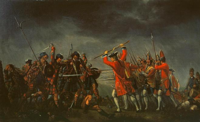 Сражение при Калло́дене.