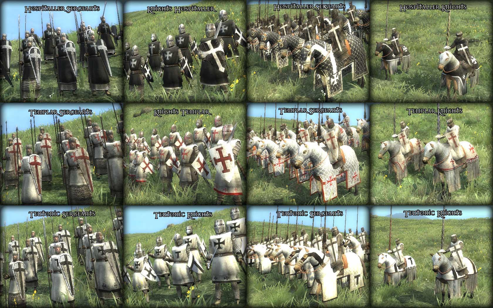 total war medieval 2 скачать моды