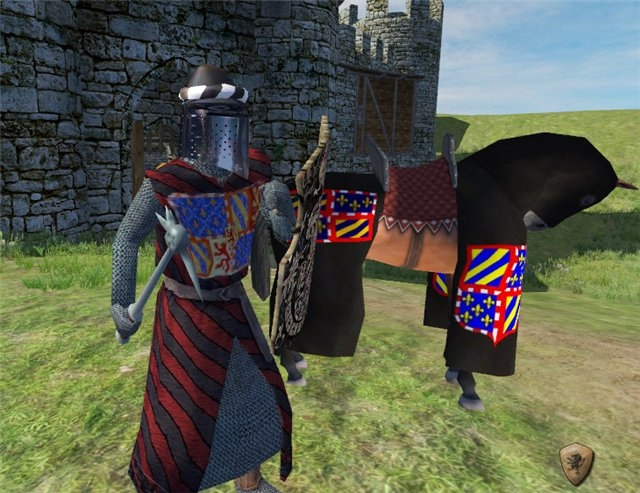 Игру Mount And Blade France 1431