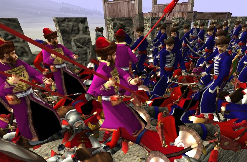 скачать моды на огонь и меч великие битвы