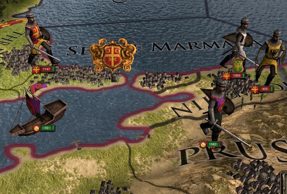 Мод для Crusader Kings 2 CK2 Plus