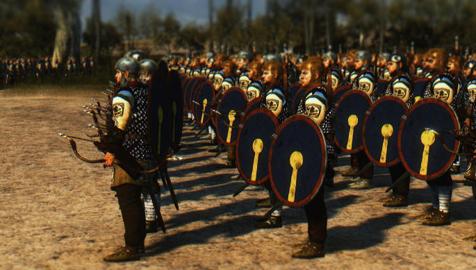 Total War Attila мод Славяне