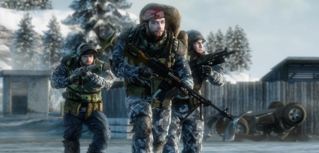 Battlefield bad company играть ботами