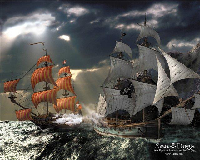 Корсары: Проклятье дальних морей. Sea Dogs